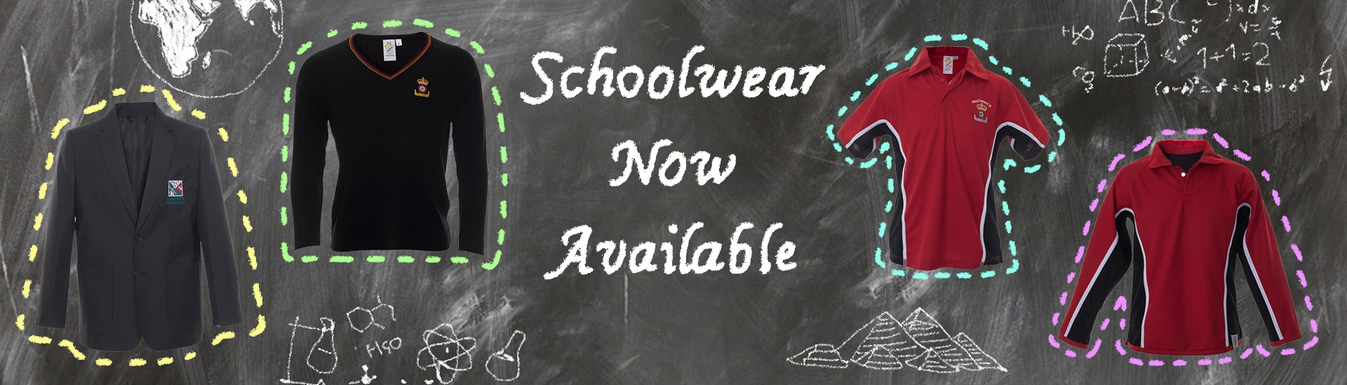 Schoolwear Now Available