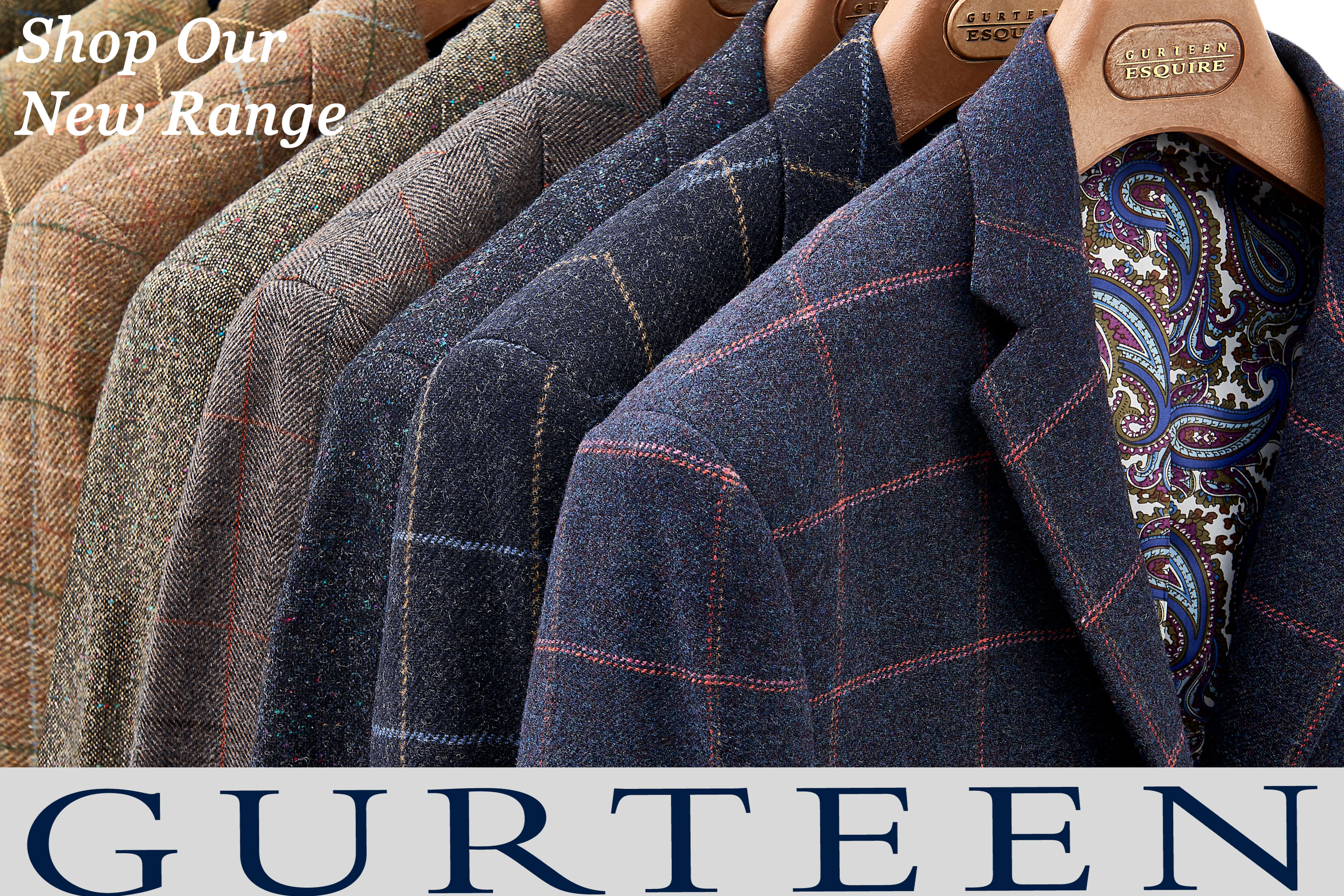 Gurteen Trousers & Jackets