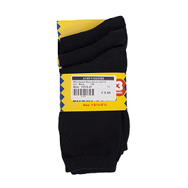 Short Socks Black