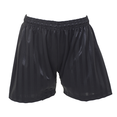 Shadow Stripe Black Shorts