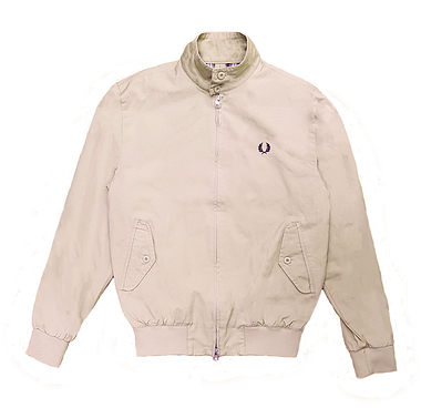 Fred Perry Check Lined Harrington