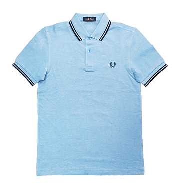 Fred Perry M3600 J76 Twin Tipped Polo