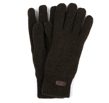 Barbour Carlton Gloves Dark Green