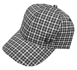 Fred Perry Gingham Check Baseball Cap