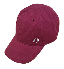 Fred Perry Tawny Port Pique Classic Cap