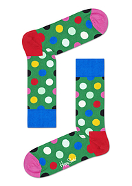 Happy Socks Big Green Dot Sock