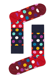 Happy Socks Big Multi Dot Block Sock