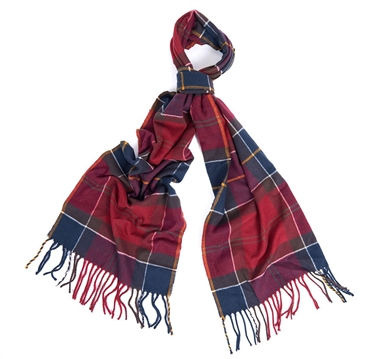 Barbour Galingale Scarf Red