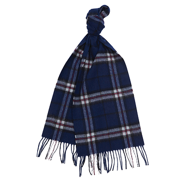 Barbour New Check Scarf Thomp
