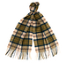 Barbour Tartan Wool Scarf Ancient