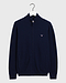 Gant Superfine Lambswool Zip Cardigan