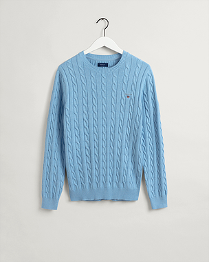 Gant Cotton Cable Crew