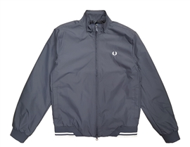 Fred Perry J100 Twin Tipped Sports Jacket Charcoal