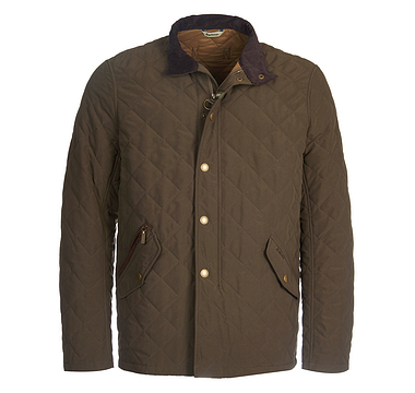 Barbour Powell Quilt Olive