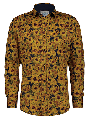 AFNF Van Gogh Sunflower Long Sleeve Shirt