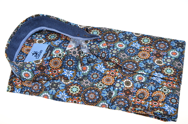 Culture Long Sleeve Multi Flower Shirt