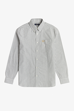 Fred Perry M1661 Vertical Stripe Shirt