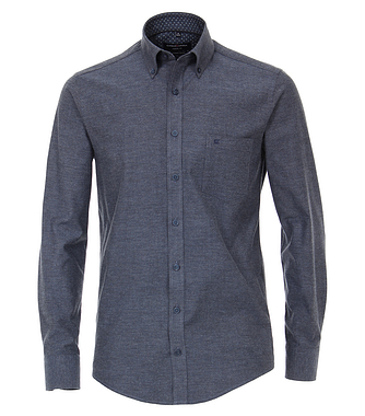 Casa Moda Navy Flannel Shirt