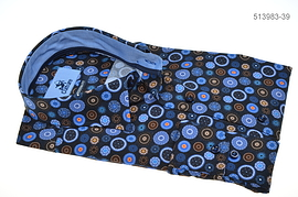 Culture Long Sleeve Shirt - All Blue Circles