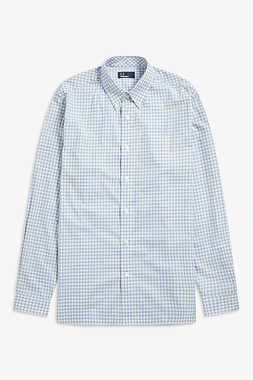 Fred Perry LS Two Colour Gingham Shirt