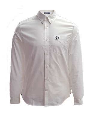Fred Perry M3551 White Classic Oxford Shirt