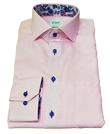 Oscar Pink Long Sleeve Formal Shirt