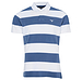 Barbour Harren Stripe Polo Washed Blue