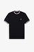 Fred Perry M1598 Tipped Henley Polo