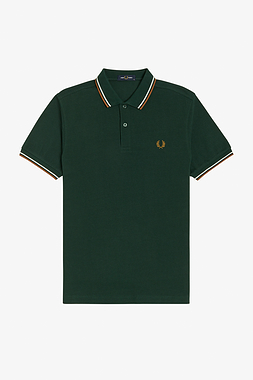 Fred Perry M3600 M61 Twin Tipped Polo