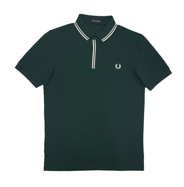 Fred Perry M8559 Tipped Placket Polo Ivy