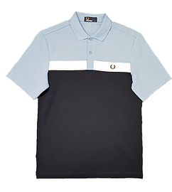 Fred Perry Contrast Panel Pique Polo