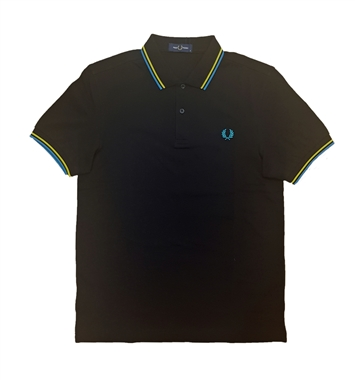 Fred Perry M3600 I78 Twin Tipped Polo