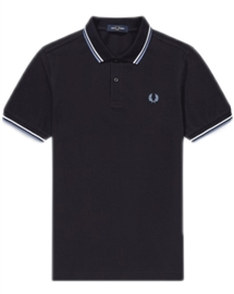 Fred Perry M3600 J88 Twin Tipped Polo