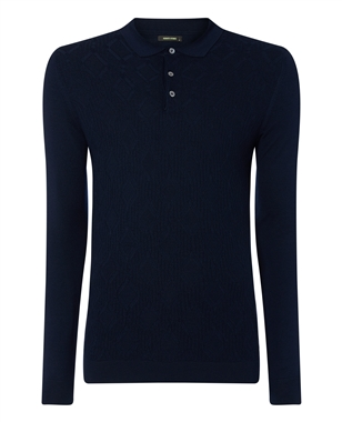 Remus 58483 L/S Polo Navy