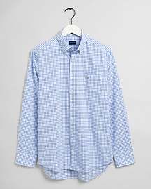 Gant The Broadcloth Gingham Shirt Capricorn Blue