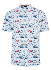 Colours 9120-340 Yuri Shirt Surf Bus