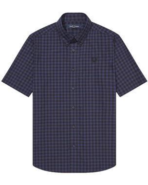 Fred Perry M8569 Gingham Shirt