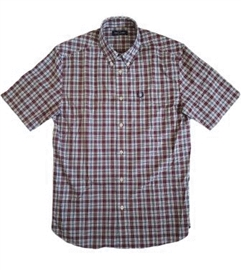 Fred Perry M8580 Small Check Shirt Port
