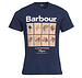 Barbour Hounds Graphic Tee Navy