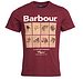 Barbour Hounds Graphic Tee Ruby