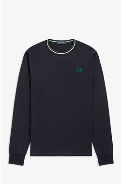 Fred Perry M9602 Twin Tipped T-Shirt Navy