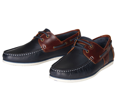 Barbour Navy Capstan Boat Shoes