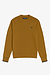 Fred Perry M7535 Crew Neck Sweatshirt Dark Caramel