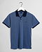 Gant 4-Colour Oxford Pique SS Rugger Persian Blue