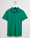 Gant Contrast Collar Pique Rugger Lush Green