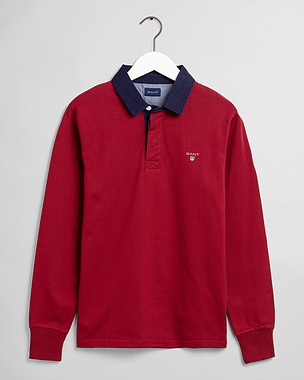 Gant Original Heavy Rugger Mahogany Red