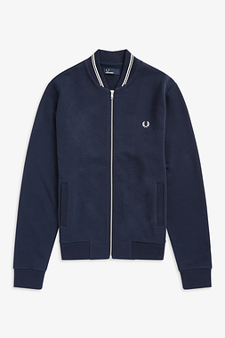 Fred Perry Bomber Neck Zip Sweatshirt
