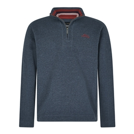 Werid Fish Knock Quarter zip Branded Fleece