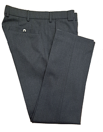 Meyer 2-333 Poly wool Roma Trousers Charcoal