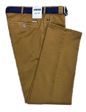 Meyer 2-5552 Roma Trousers Tan